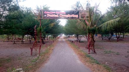 Pantai Cangkring, Wisata Baru Desa Poncosari