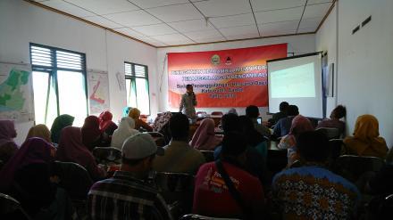 Pelatihan Kebencanaan BPBD di Desa Poncosari
