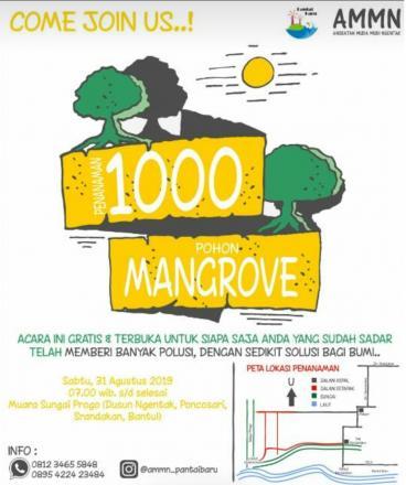 Penanaman 1000 Pohon Mangrove