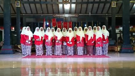 Penampilan Grup Panembrama Dusun Bibis