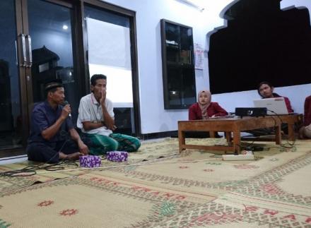 Pemaparan Program kerja KKN UMY Dusun Ngentak